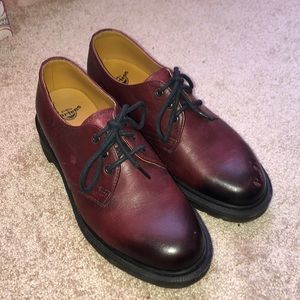 Beautiful Maroon Dr. Martens!!!!